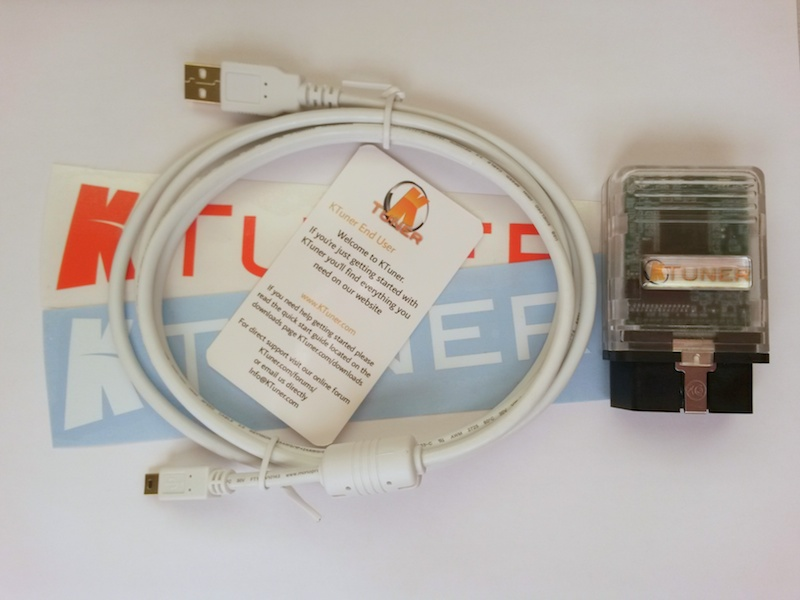 Ktuner Flash cable
