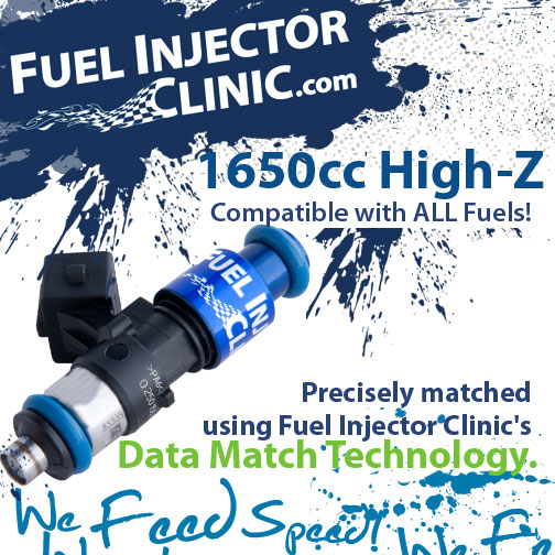 1650cc Fuel Injector Clinic Injector Set