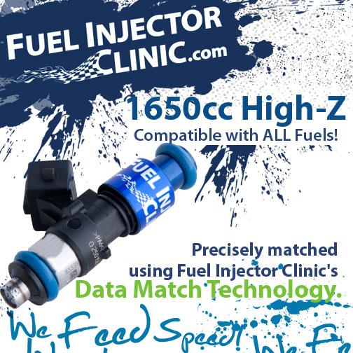 1650cc Fuel Injector Clinic Injector Set