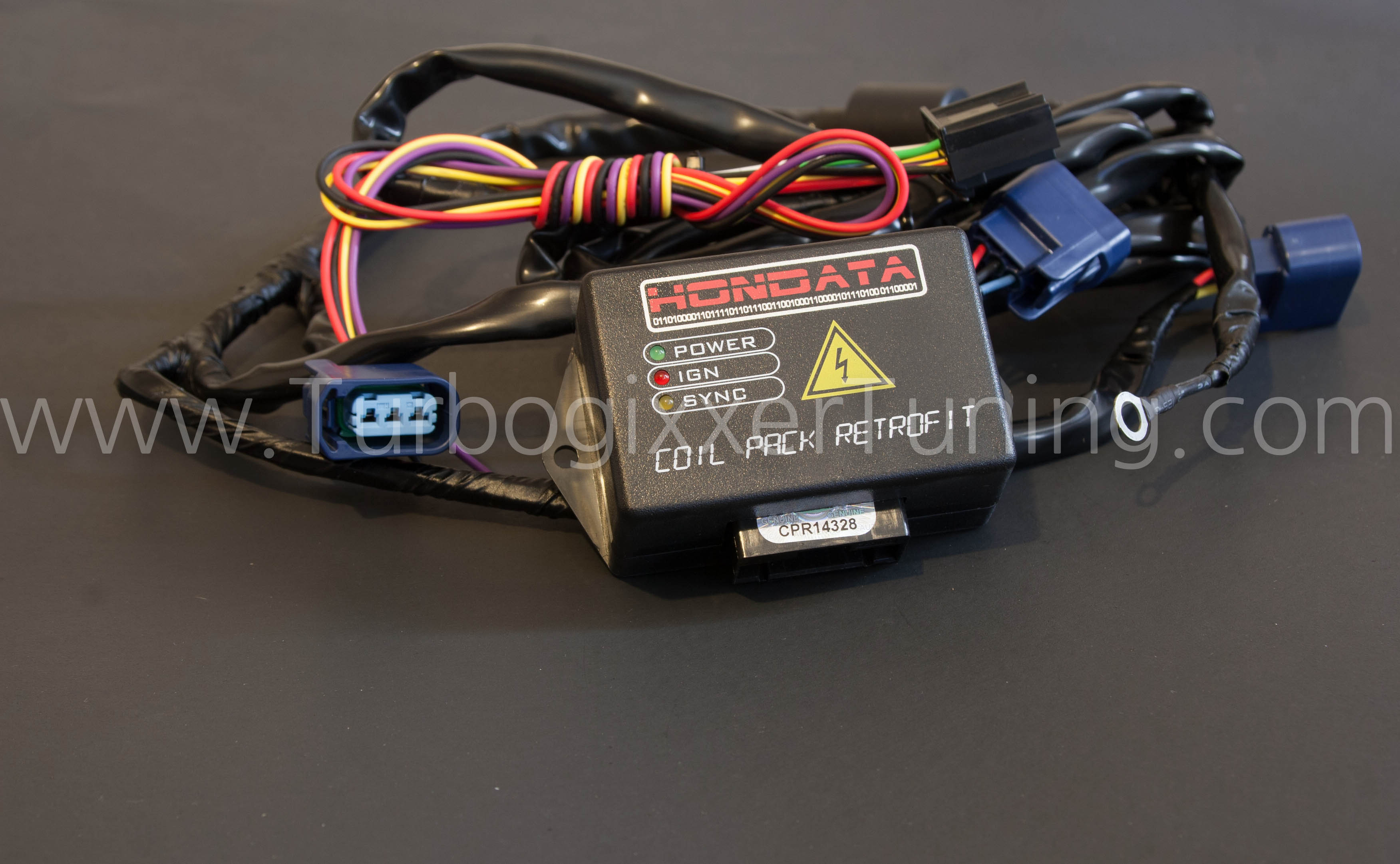 Turbogixxer Tuning :: Hondata :: Hondata Coil Pack Retrofit (CPR) on